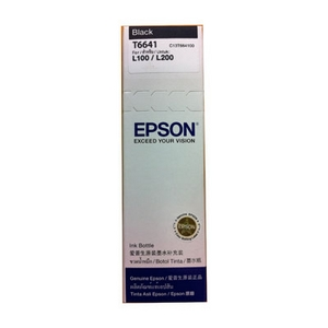 Mực in Epson T6641 Black Ink Tank ( T664100 )